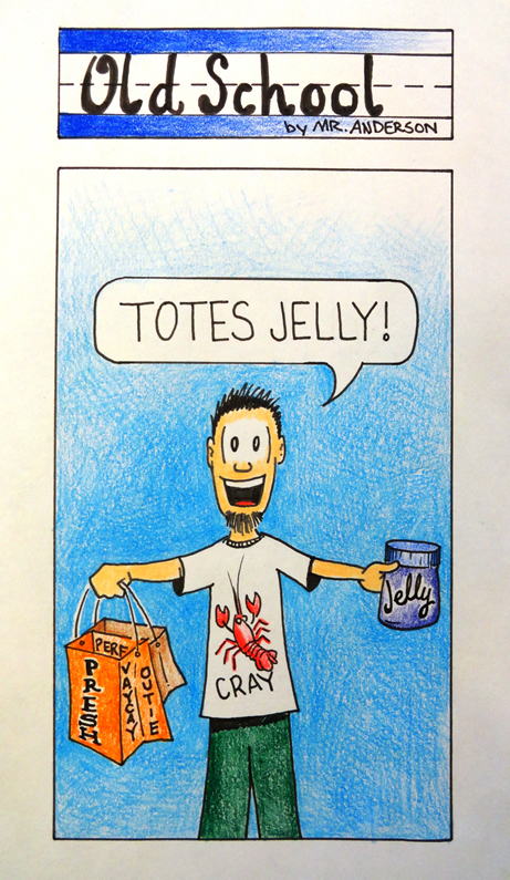 Old School Totes Jelly
