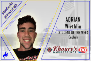 10-08-20 Mrs Santos announces Adrian Wirthlin as English Student of the Week