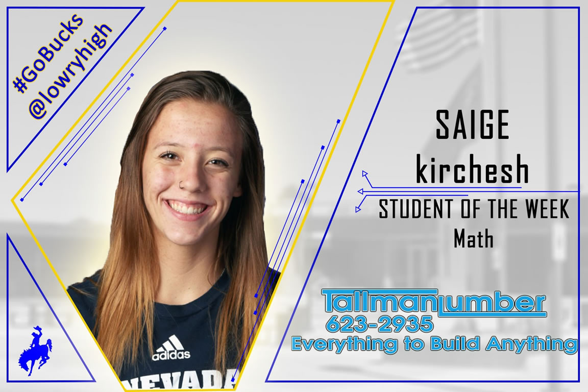 Math Student of the Week announced