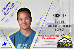 Nichole Burke. /Lowry Multimedia Communication