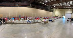 All of the gifts at the Events Center./Courtesy • Mrs. Alexis Mattson