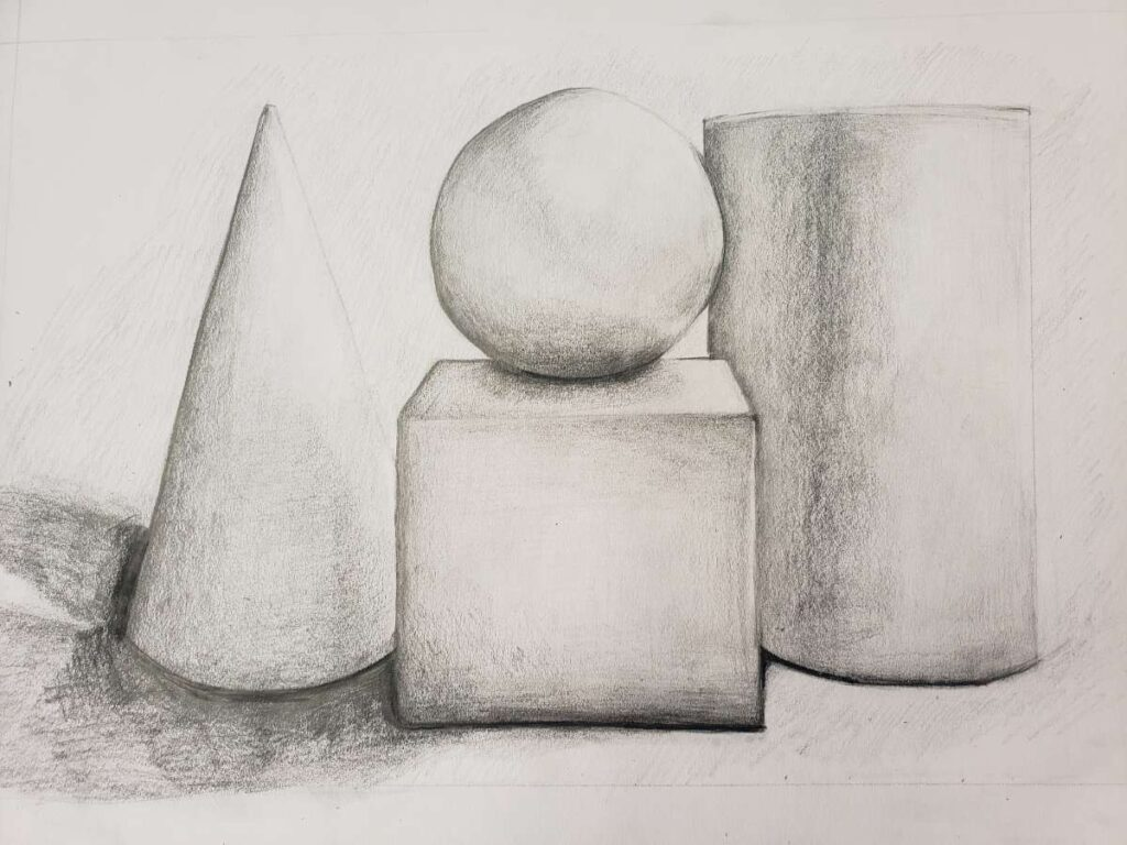 """Still Life Shading""./ Courtesy • Jasmin Ruiz"