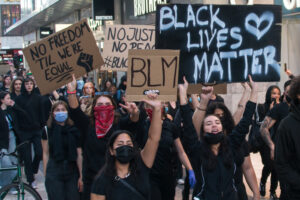 Black Lives Matter manifestation in Stockholm June 3, 2020./ Courtesy • KulturSthlm