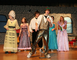 Drama shines in performance of 'Frog Prince of Spamalot'