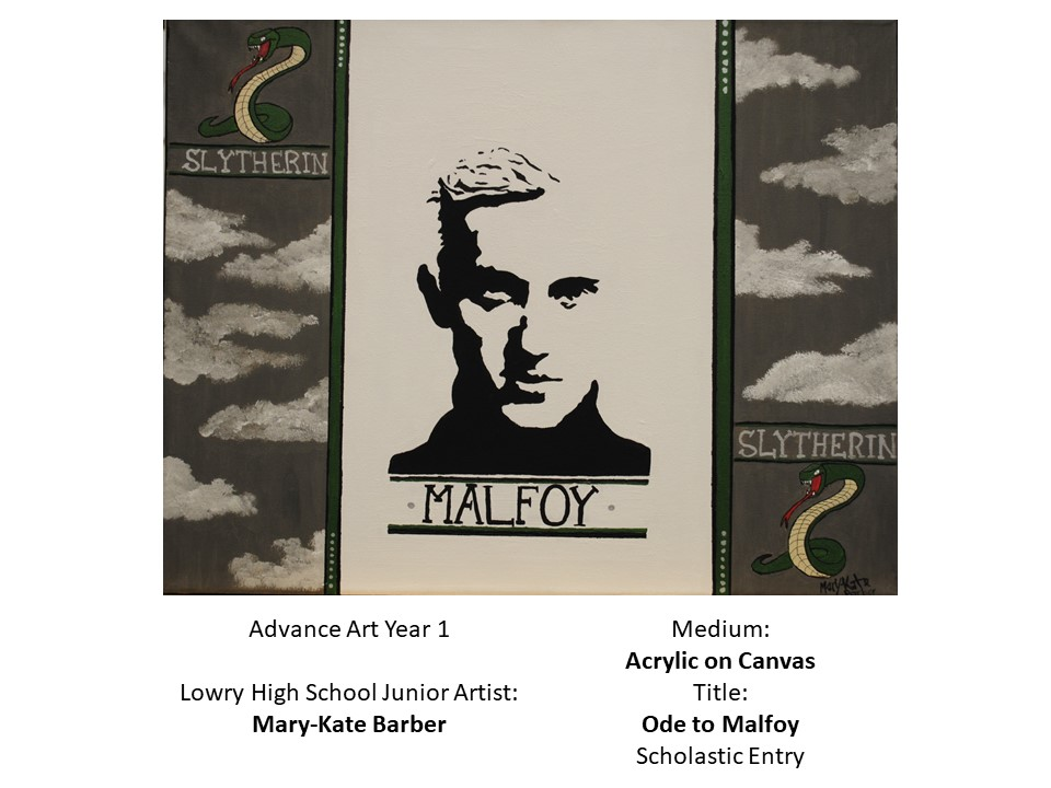 Students compete in Scholastic Arts Competition Ode to Malfoy