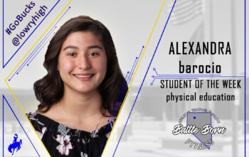 Alexandra Barocio as Student of the Week