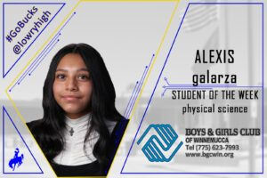 Student of the Week: Alexis Galarza
