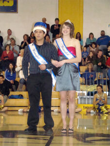Christian Alcaraz and Skylar Estes were crowned King and Queen. /Victoria Fragione • The Brand