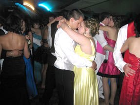 Students dancing at prom. /Chloe Rusconi • The Brand
