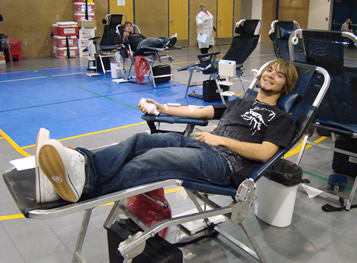 Buckaroos donate blood to save lives