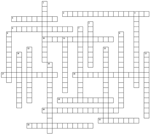 Senior Crossword