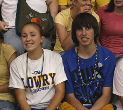 Last assembly for the 2008-2009 school year