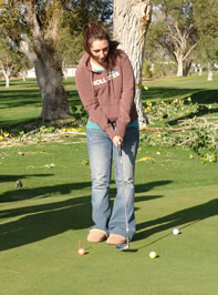 Girl's golf ends successful season