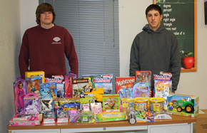 Math-Science Club toy drive