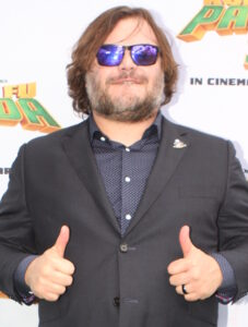 Jack Black voices Po, the main character in Kung Fu Panda./Courtesy • Eva Rinald from Wikimedia