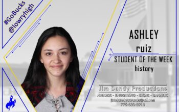 Student of the Week: Ashley Ruiz