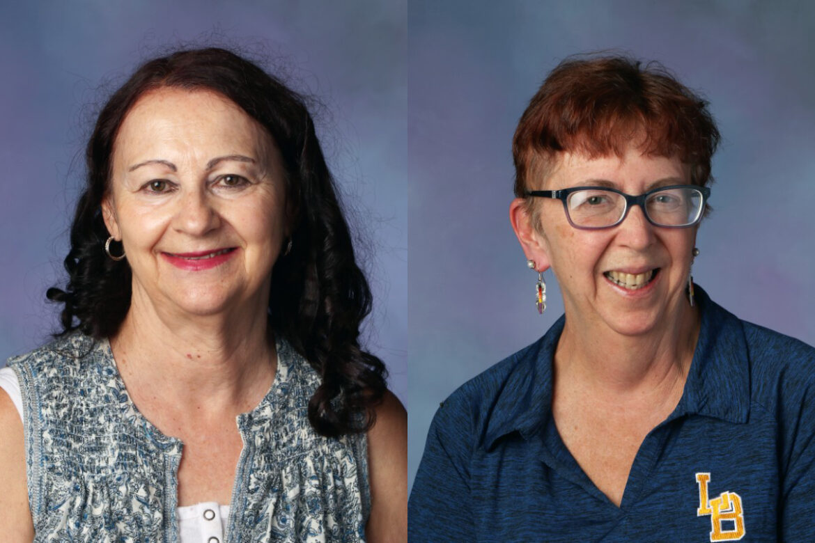 Lowry announces staff members of the year
