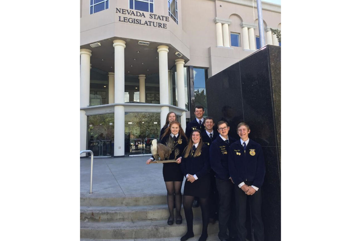 FFA agricultural issues team places 2nd in nation