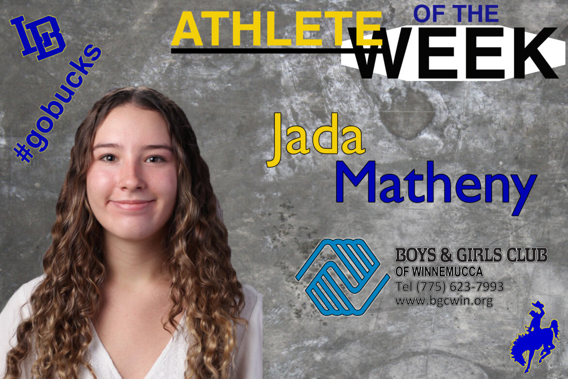 Coach Sean Cooney selects Jada Matheny as Athlete of the Week