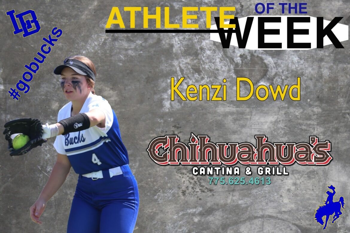 Kenzi Dowd, becomes a softball star while still keeping her head in the game