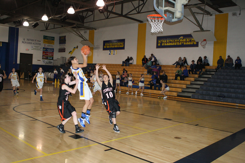 The Lady Buckaroo's defense puts shame to Fernley's offense