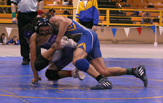 Wrestlers dominate at zone