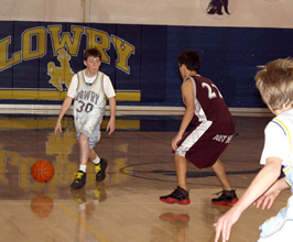 Boys freshmen basketball finishes out the season with a win