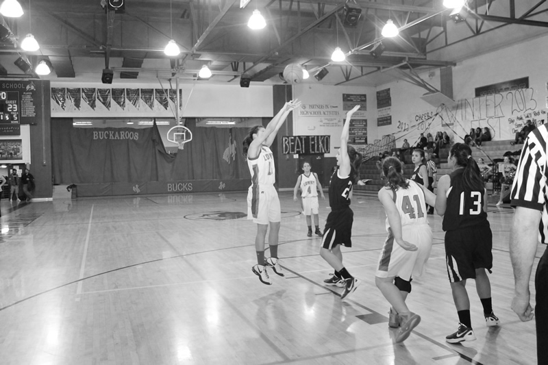 JV girls dominate Wolverines in final game of the season