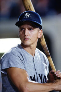 Barry Pepper as Roger Maris in the movie