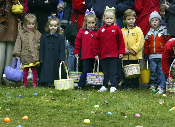 Press Release: White House Announces Costume Characters at Easter Egg Roll