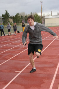 Kevin Boyle tries to run really fast. /Jolyn Garcia • The Brand
