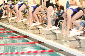 Lowry swimmers faring well against stiff competition in the pool