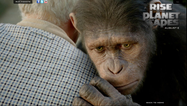 Movie review: 'Rise of the Planet of the Apes'
