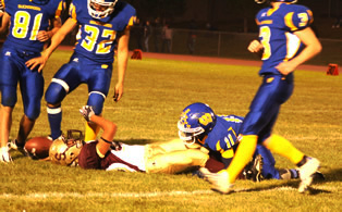 Lowry football gets first Homecoming win in six years