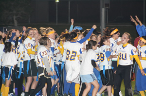Powderpuff game ends in stunning comeback