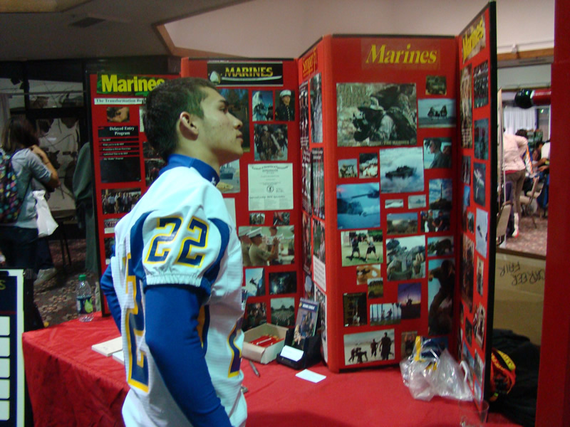Career Fair allows students chance to check out colleges and career paths