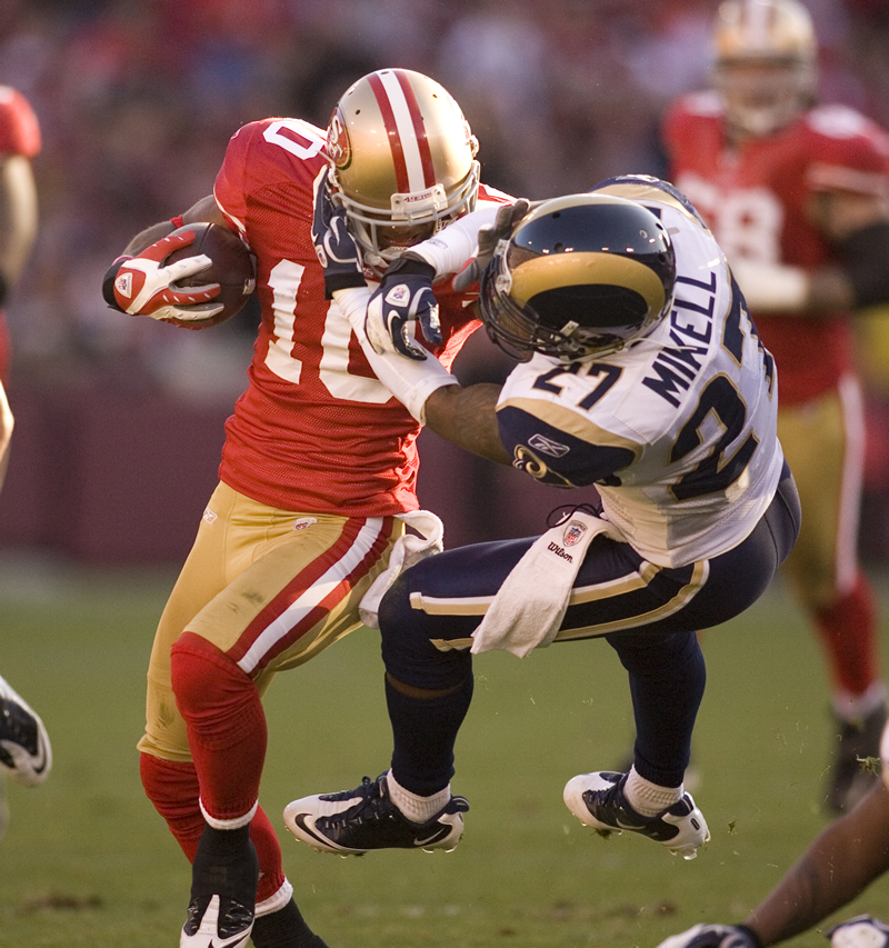 49ers wide receiver Kyle Williams. /D. Ross Cameron • Contra Costa Times/MCT
