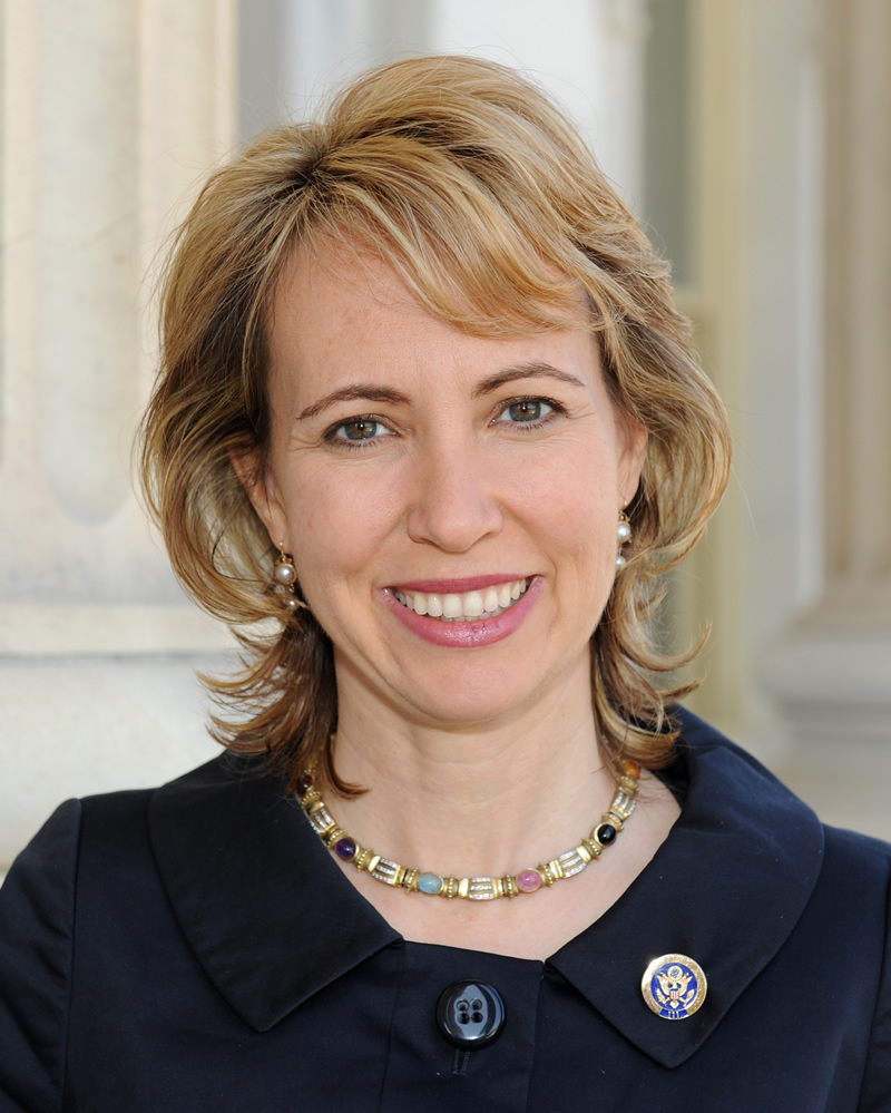 Official portrait of United States Representative Gabrielle Giffords. /Courtesy • United States Congress
