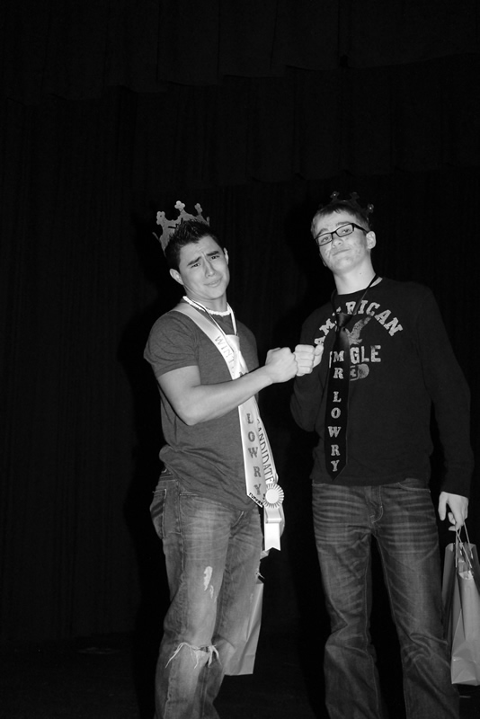 Alec Mayo, Mr. Lowry for the second year