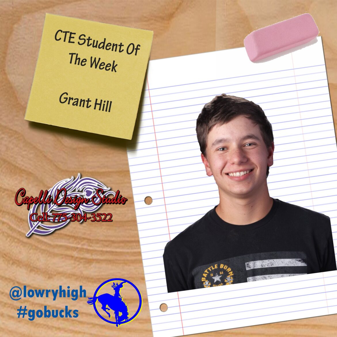 Student of the Week: Grant Hill