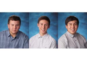 Jeremiah Nichols, Derek Espinoza, and Kevin Espinoza./Courtesy • Winnada