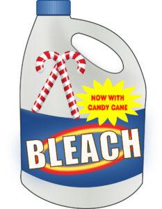 Peppermint bleach. /Chris Gildone • Lowry Multimedia Communication