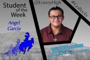 Student of the Week Angel Garcia