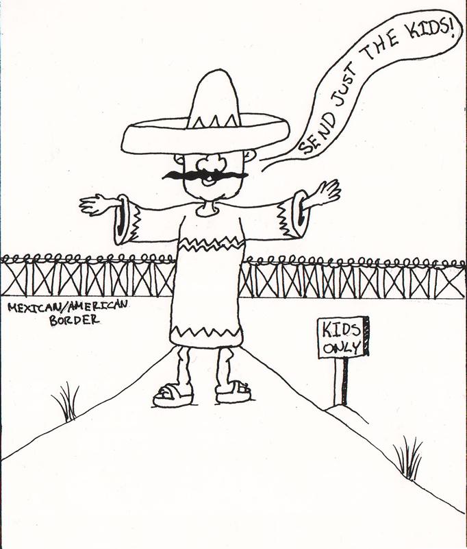 Student Political Cartoon