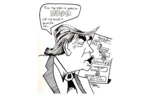 Trump Tax Plan by Julia Topholm