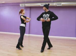 Evan Lysacek has been teamed with Anna Trebunskaya./ Chris Chavira. /ABC/MCT