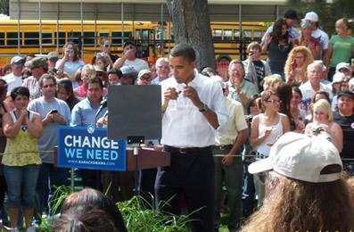 Obama visits Elko