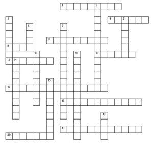 10-14-09 Crossword