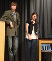 Young Democrats debate Young Republicans