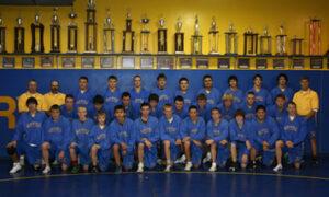 Lowry's 2008-2009 wrestling team. /Courtesy • Winnada